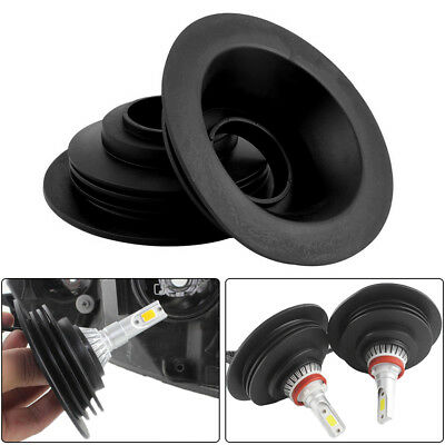 """2X 1.25"""" Headlight Dust Cover for HID LED Conversion Kit Bulb Seal Cap H4 H7 USA"""