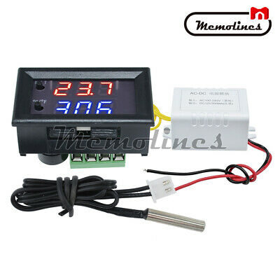 Ac110-220v -50-110c W1209wk Digital Thermostat Temperature Control Smart Sensor