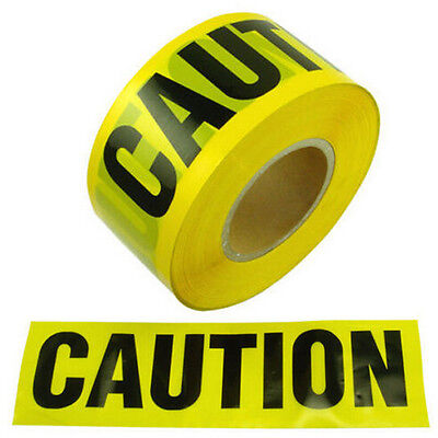 Caution Tape 7.5 CM X 100 M CAUTION TAPE Roll Safety Barrier Police Barricade - Police Caution Tape