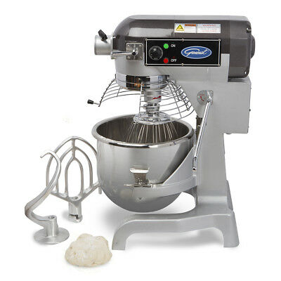 General Gem120 Commercial Nsf 20qt Planetary Stand Mixer W Timer 1.5hp 12 Hub