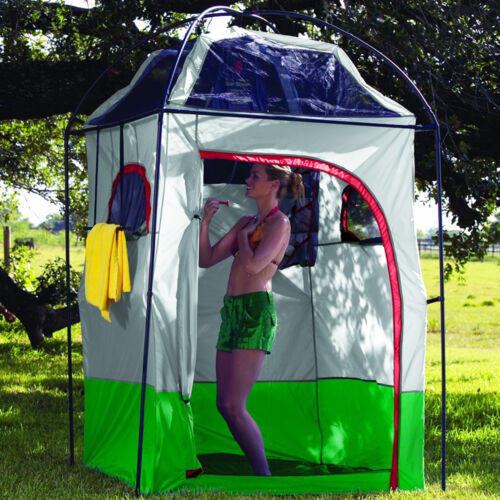 Portable Camp Shower Tent Shower Room Bathroom Privacy Outdoor Changing Room New