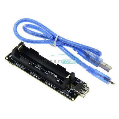 Hot Raspberry Pi Wemos 18650 Battery Shield V3 Esp32 Esp8266 Cable For Arduino
