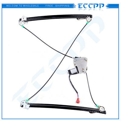 Power Window Regulator for 1996-00 Chrysler Town & Country Front Left with Motor