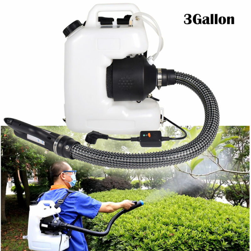 Electric Backpack ULV Sprayer Fogger Sanitizer Fogging Machine Disinfection 12L