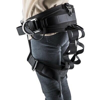 Tree Carving Rock Climbing Harness Rappelling Anti Fall Half Body Safety Belt