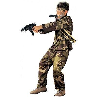 Kostüm Special Force Kämpfer Gr. 128 Karneval Fasching Neu ()