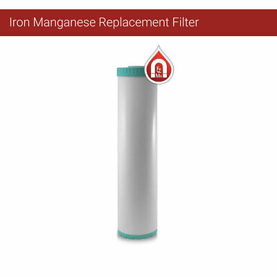 """1x Big Blue 20""""x 4.5"""" IRON and Manganese removal Water Filter"""