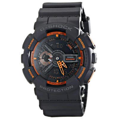 Casio GA110TS-1A4 Men's G-Shock Black Ana-Digi Dial World Time Dive Watch