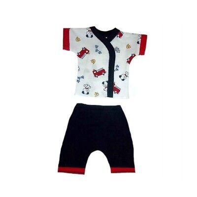 Baby Boys Dalmatian and Fire Trucks Short Clothing 4 - Preemie & Newborn Sizes](Dalmatian Baby Clothes)