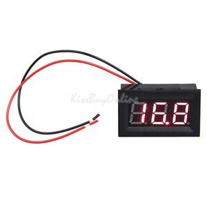 K1BO-0-56inch-LCD-DC-3-2-30V-Red-LED-Panel-Meter-Digital-Voltmeter-with-Two-wire