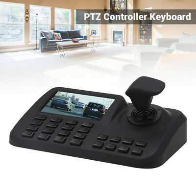 3D Joystick PTZ Keyboard Controller Network Speed Onvif Pan Tilt IP Camera RJ45