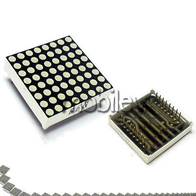 30 Led Dot Matrix Display 8x8 3mm Red Common Anode 16 P