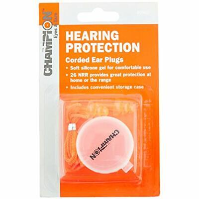 Champion Gel Corded Ear Plugs With Case Earplugs With Sports Outdoors Eyewear