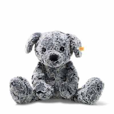 STEIFF 083655 Taffy Hund 45cm grau meliert Soft Cuddly Friends