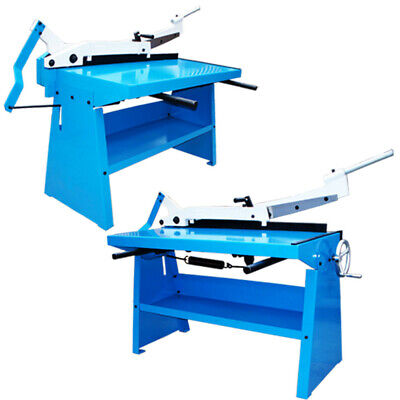 40 Guillotine Shear Plate Metal Cutter Cutting 20 Gauge Floor Stand