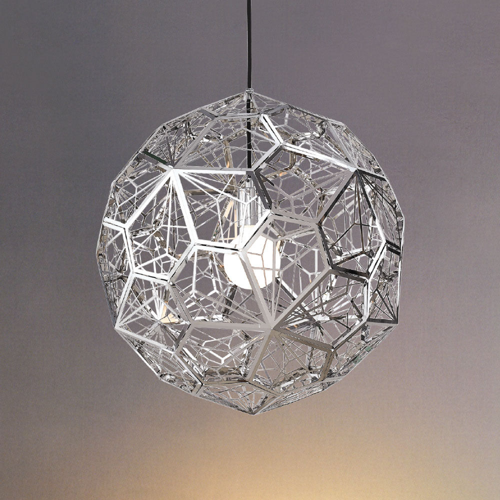 Diy etch web pendant light ceiling fixtures lamp for Diy pendant light