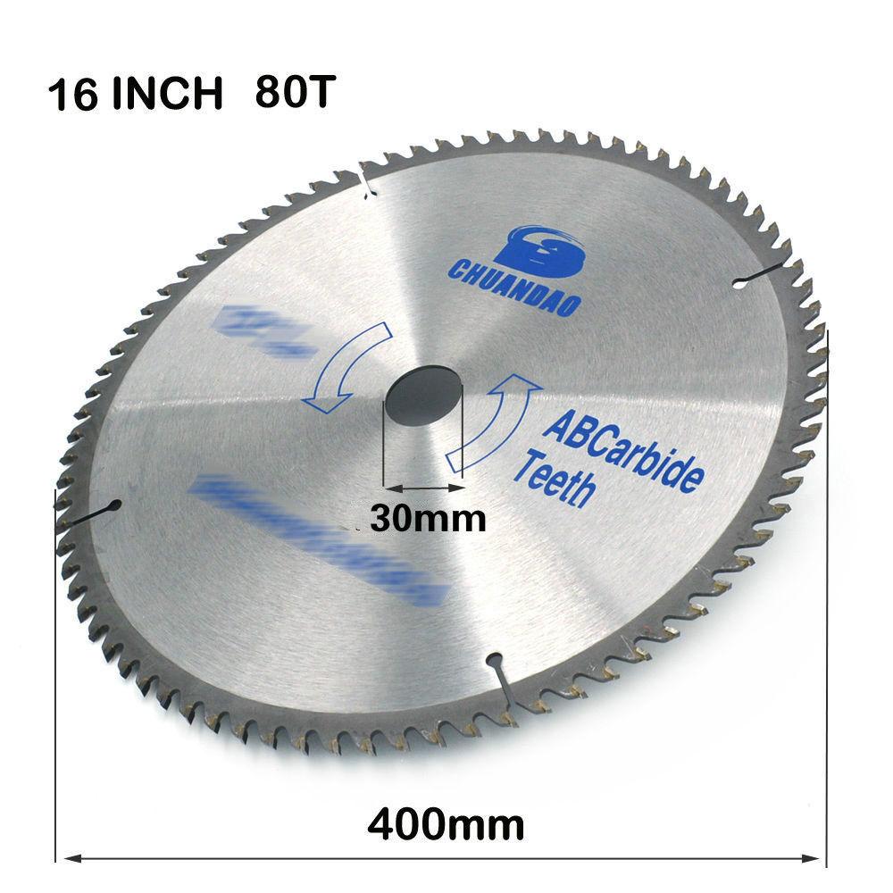230mm Carbide Circular Saw Blade Wood Cutting Disc For Woodworking Tools 80Teeth