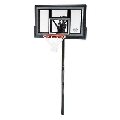 Permanent 50 in. Shatter Guard backboard In-Ground Basketball System Equipment