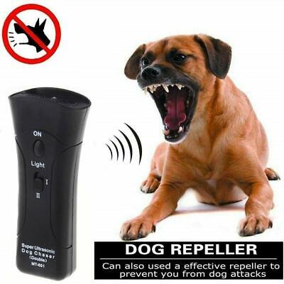 Ultrasonic Anti Stop Barking Pet Dog Puppy Train Repeller Control Trainer Device Stop Dog Barking