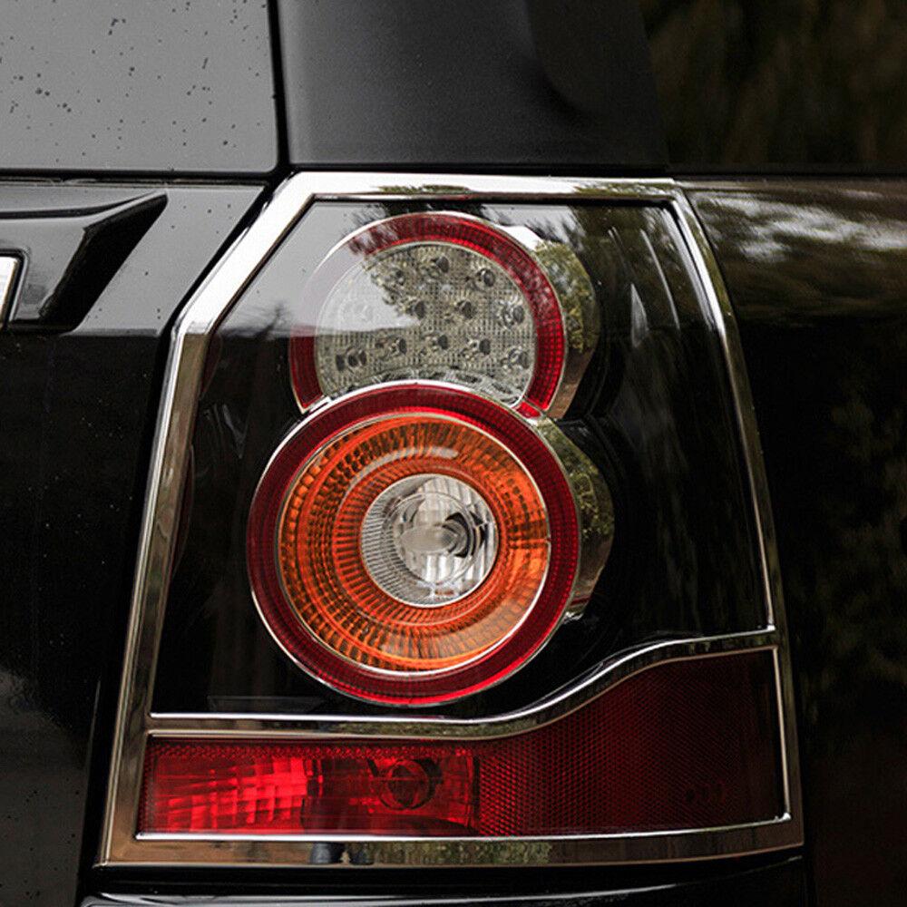 Chrome Rear Tail Light Lamp Cover Trim For Land Rover Freelander 2 2012-2015
