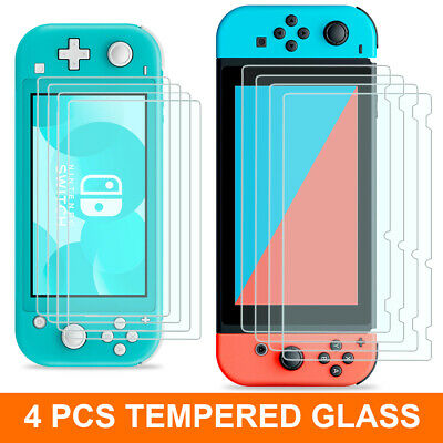 4 PCS Nintendo Switch / Lite Premium HD Tempered Glass Screen Protector Guard