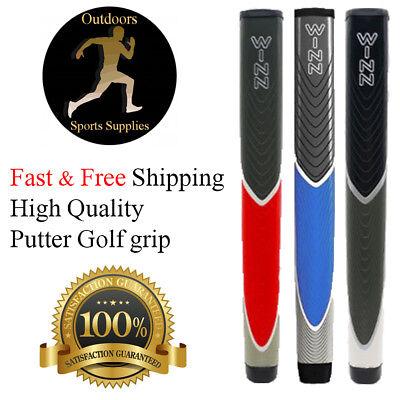 Quality WINN Jumbo Golf Club Grips Standard Free Shipping Red Black Blue (Red Golf Club Grips)