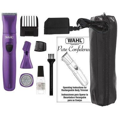 Wahl Body Kit für sensible Bereiche, Intimrasier Damenrasierer Bikinizone 40413