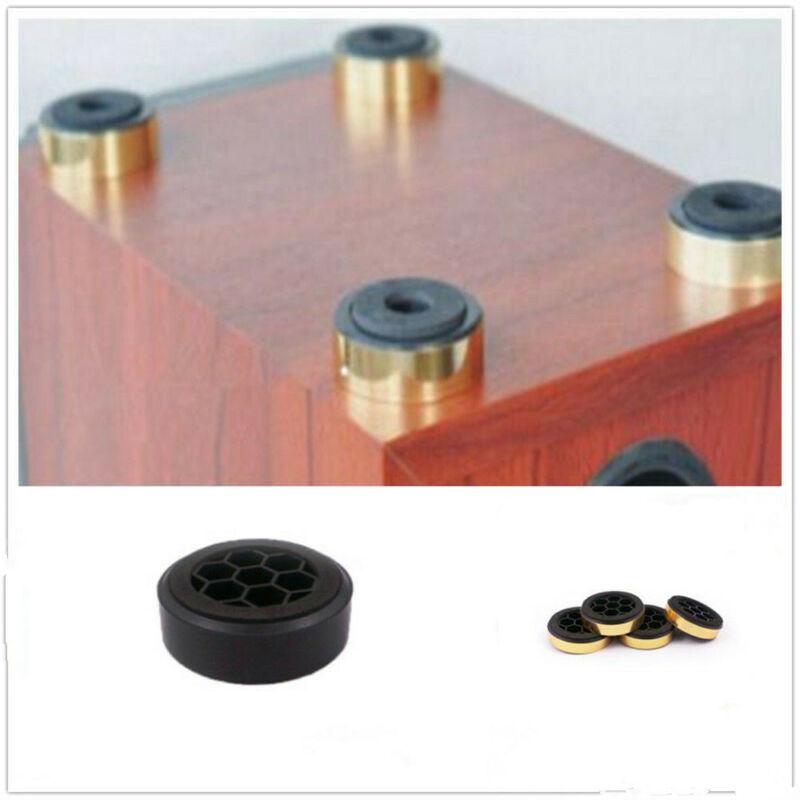 4pcs Amplifier Speaker Isolation Feet Mats HiFi Stand Pad 60mm Audio Equipment