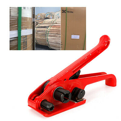 Tensioner Tool Poly Strapping Cutter Manual Banding Polyester 38---34 Strap