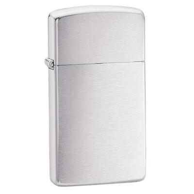 Zippo Brushed Chrome Slim Pocket Lighter