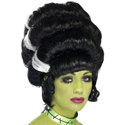 Frankensteins Braut Perücke Pin Up Frankie Halloween Bausch Kostüm Perücke (Halloween Kostüme Frankensteins Braut Perücke)