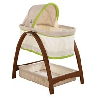 Brand New IN BOX Summer Infant Bentwood Bassinet with Motion