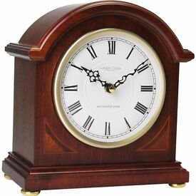 Westminster Chime Mantel Clock - 21 cm