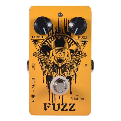 Caline CP-46 Fuzzy Bear Guitar Fuzz Pedal Effect