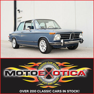 BMW : 2002 tii 1972 BMW 2002 tii BILLIE JOE ARMSTRONG W/ SIGNED FENDER GUITAR