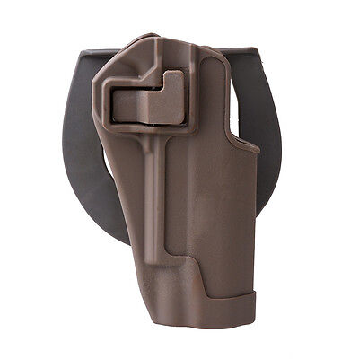 Quick Tactical Holster Right Hand Paddle & Belt Holster for Colt 1911 Tan