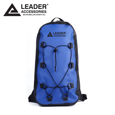 e4684f0d2a0 New 20L Blue Waterproof Backpack Drybag for HikingClimbing Kayaking Rafting
