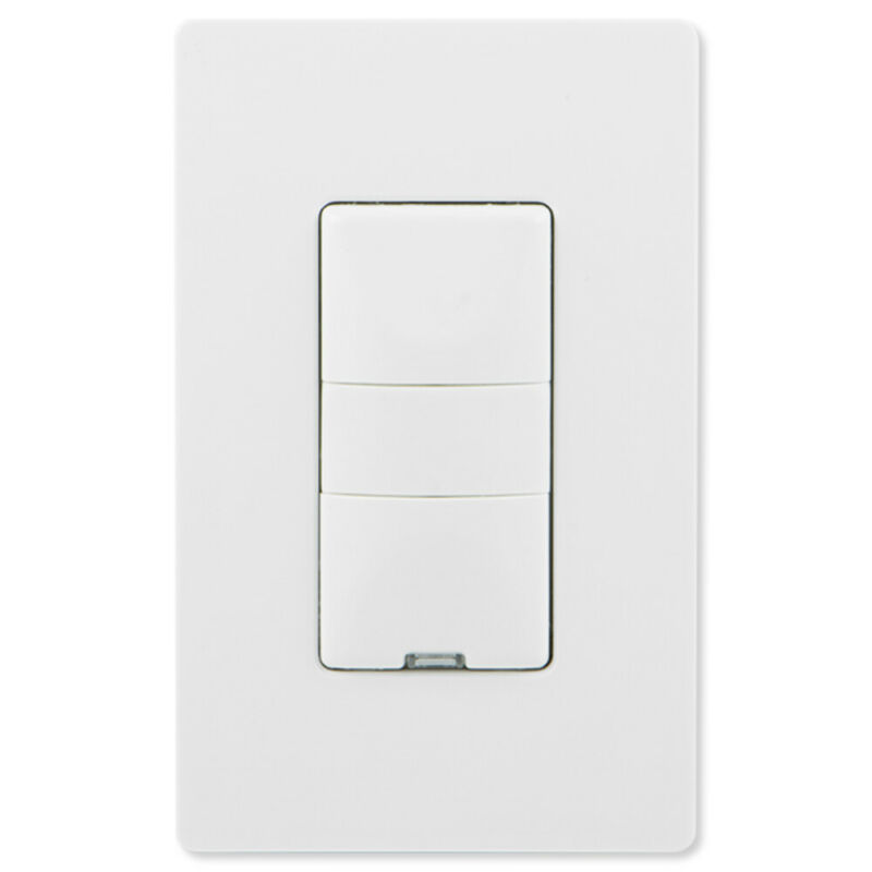 GE Z-Wave Plus Wireless Smart In-Wall Dimmer Switch White 26933
