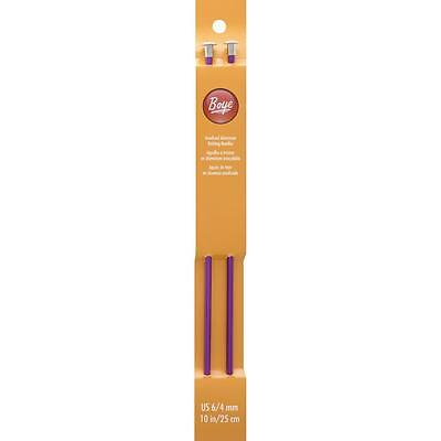 BOYE SIZE 6 10 INCH KNITTING NEEDLES