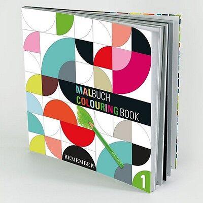 Remember Malbuch - Malbuch für Erwachsene - 96 Seiten - NEU