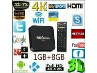 4k MxQ Pro Android tv box IptvUltra hd