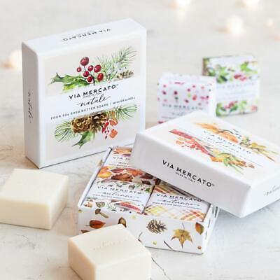 Soap Gift Set - Via Mercato Natale - Winter Set Gift Set Soap