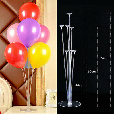 70 cm Balloon Column Set Upright Base Stand Holder Display Kit Party Home Decor - Balloon Column Base