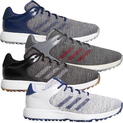adidas 2020 S2G Mens Waterproof Spikeless Lightweight Golf Shoes - Medium Fit