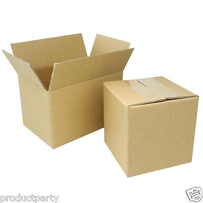 Lot Of 5 Small 7x5x4 Boxes Bulk Quality Cardboard Shipping Box Usps Ups Mail