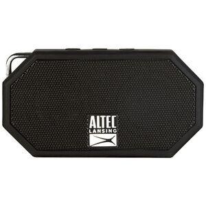 mini h20 rugged waterproof bluetooth speaker black