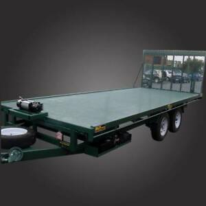 20x8 Tipper Trailer Flat Bed - GVM 3200kg