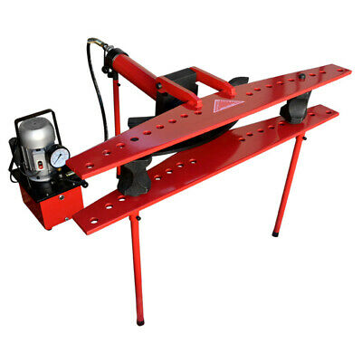 21 Ton Hydraulic 110v Electric Tube Pipe Bender Bending With 12 To 4 Dies