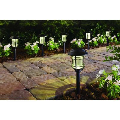 Solar Pathway Lights (6-Pack) Outdoor LED Garden Lawn Patio Yard Landscape Light