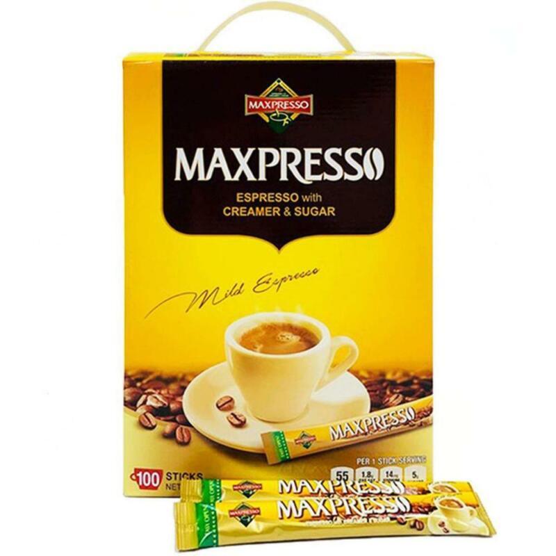 Maxpresso, 3-in-1 Korean Instant Coffee, 100 Sticks 100